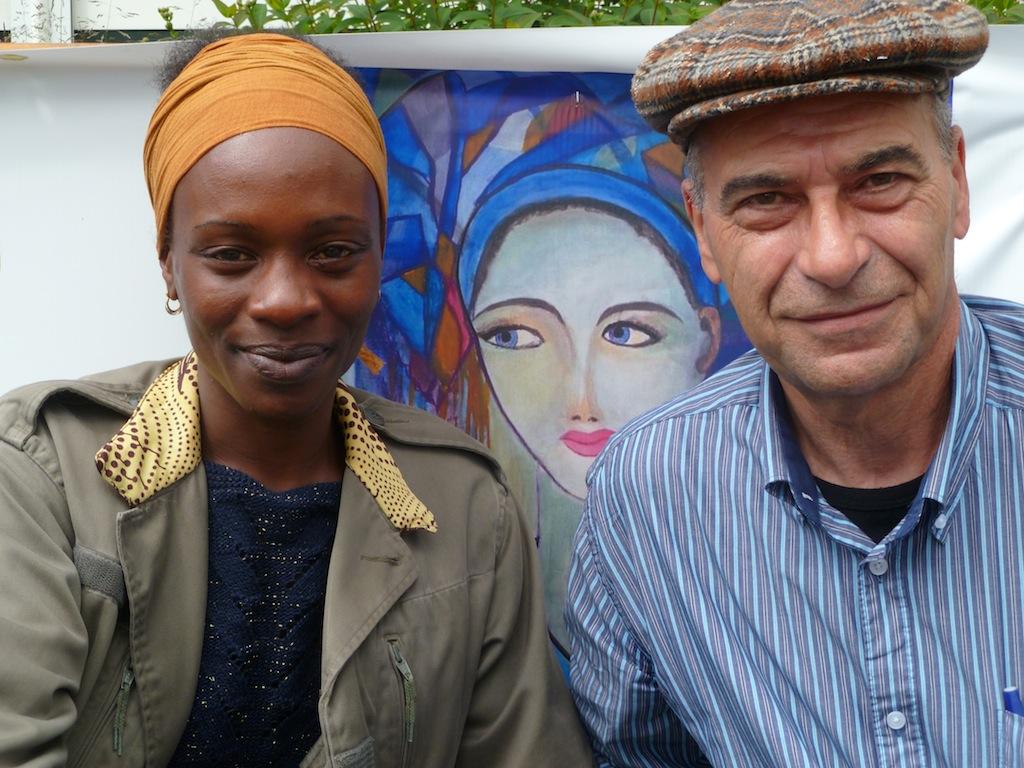 Camille de Archangelis et Hadidiatou Sakho ont organisés la dix-septième édition du Festival Populaire de Poésie Nue